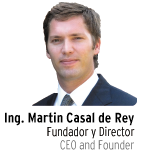 Ing/Eng. Martin Casal de Rey, Founder and CEO Smart Chemicals SRL